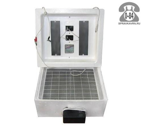 Инкубатор Несушка БИ-1 на 90 яиц без терморегулятора, с механическим переворотом, резервный источник питания: без дополнительного источника
