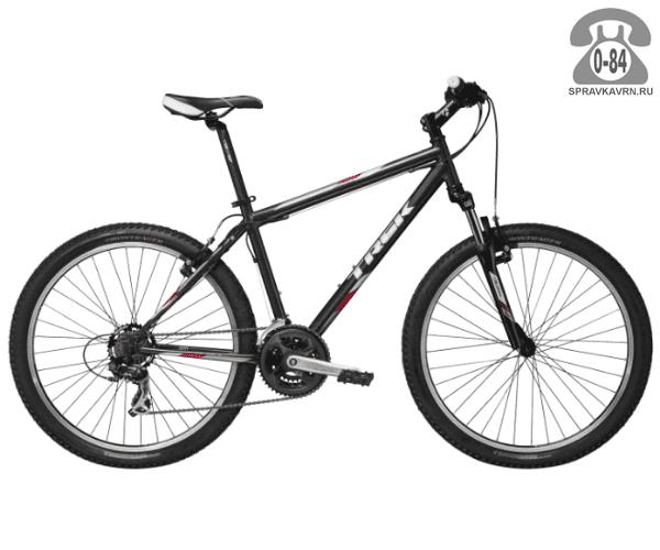 """Велосипед Трек (Trek) 820 (2016), рама 21.5"""" размер рамы 21.5"""" черный"""