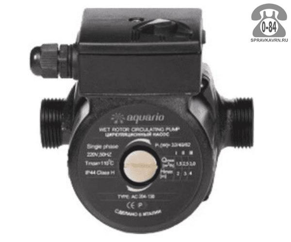 Циркуляционный насос Акварио (Aquario) AC 324-180, 3.6м3/ч, напор 4м