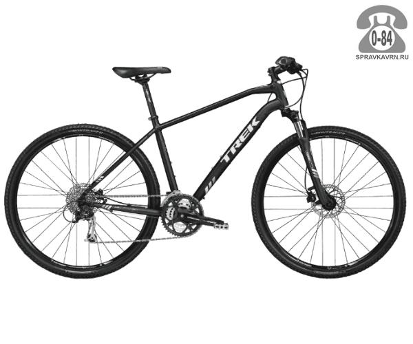 """Велосипед Трек (Trek) 8.4 DS (2016), рама 18"""", черный размер рамы 18"""" черный"""