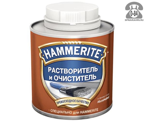 Растворитель Хаммерайт (Hammerite) для лакокрасочных материалов (ЛКМ) 0.5 л жестяная банка Германия