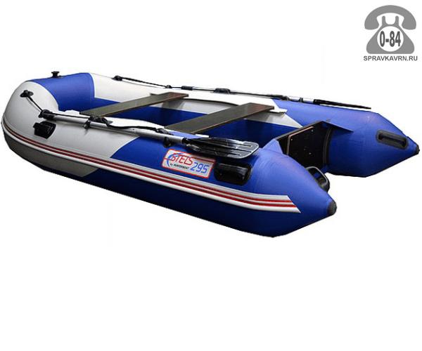 Лодка надувная Hunterboat STELS 295, синий/белый