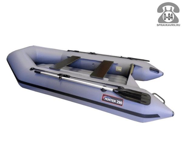 Лодка надувная Hunterboat Хантер 240, серый 240001
