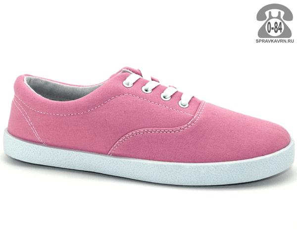 Кеды Триен (TRIEN) WJ-13-022 pink женские 36-41размер, подошва: ПВХ