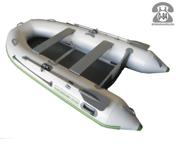 Лодка надувная Нордик (Nordik) 310, серая