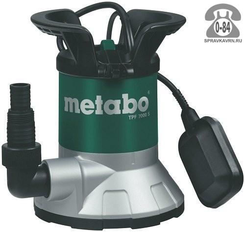 Насос водяной дренажный Метабо (Metabo) TPF 7000 S