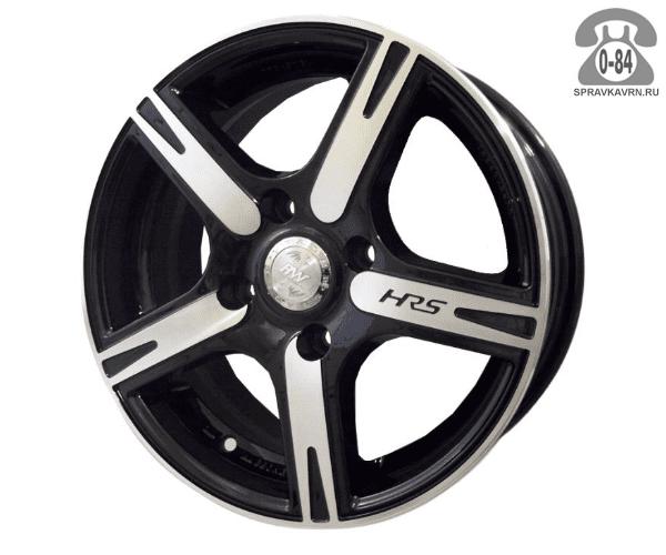 """Диск РВ (Racing Wheels) H-158 15"""" ширина 6.5"""" крепежных отверстий 4 диаметр расположения отверстий 100 мм вылет колеса (ET) 45 мм диаметр центрального отверстия 73.1 мм"""