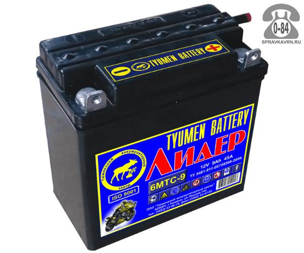 АКБ автомобильная Tyumen Battery Лидер 12 В