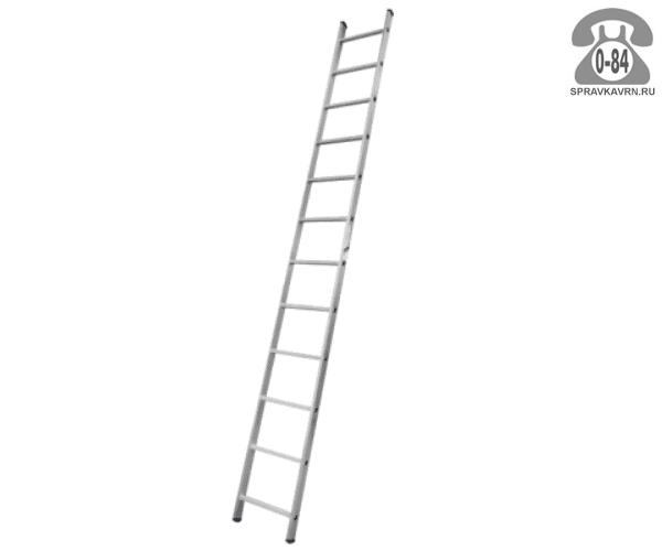 Лестница приставная Алюмет (Alumet) HS1 6112