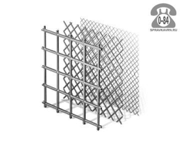 Сетка строительная ПерфоГрад сталь нержавеющая