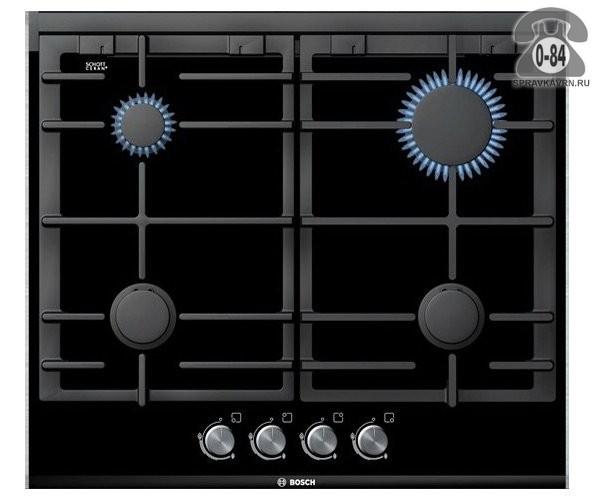 Варочная панель Бош (Bosch) PRP626B70E стеклокерамика автоматический электроподжиг