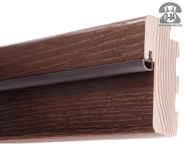Дверная коробка Топ-Комплект Эко, цвет венге кроскут, 2150x85x40мм