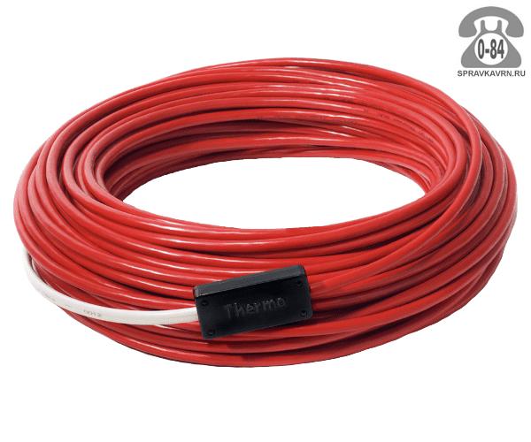 Тёплый пол электрический кабель