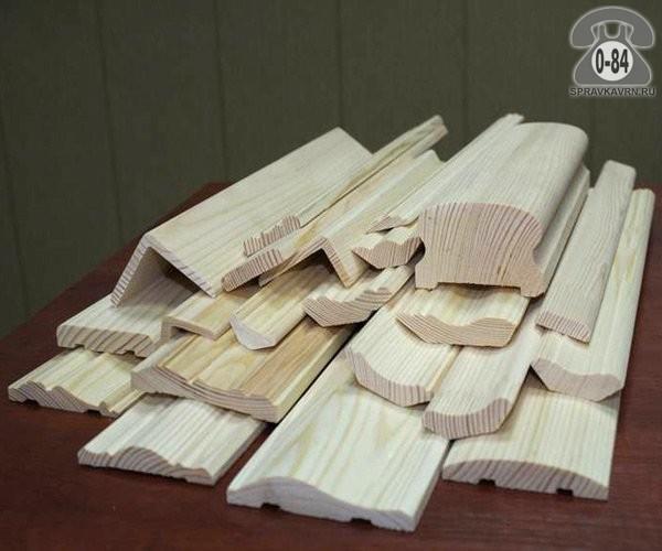 Раскладка деревянная угловая