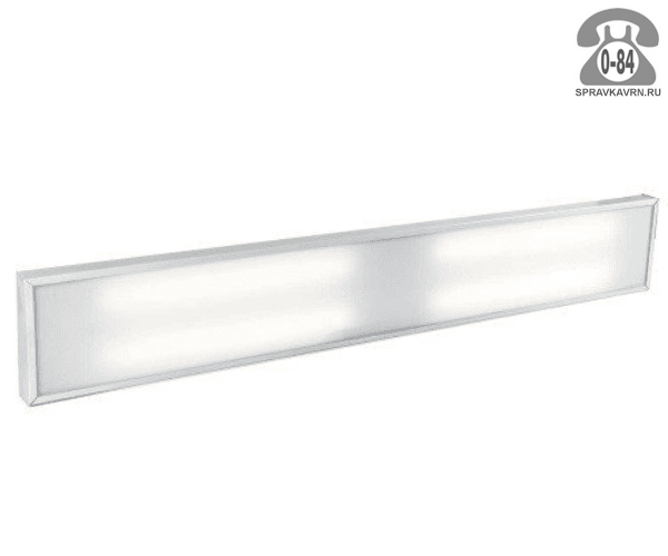 Светильник для производства SVT-ARM U-40-2x36-M 40Вт