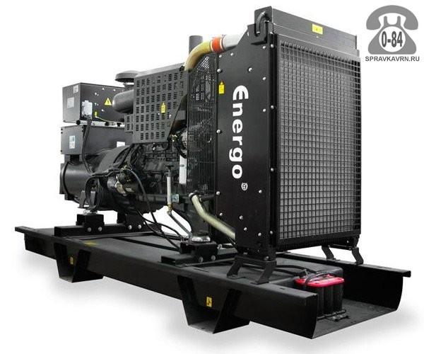 Электростанция Энерго ED 250/400 V двигатель Volvo Penta TAD 734 GE