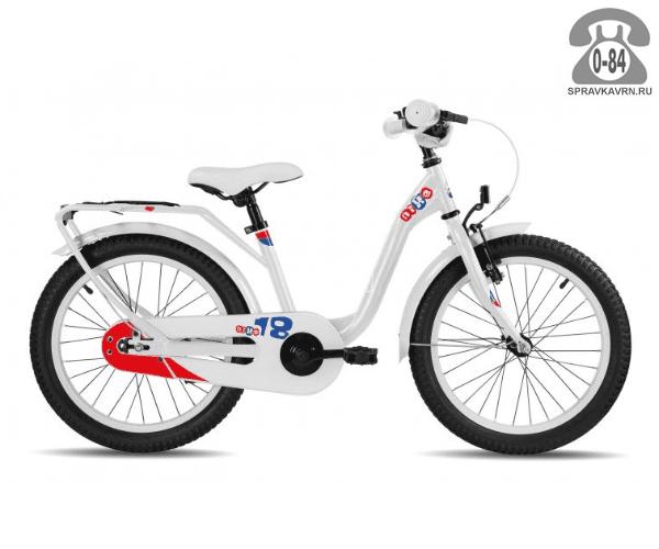 Велосипед Скул (Scool) niXe 18 steel (2017), белый