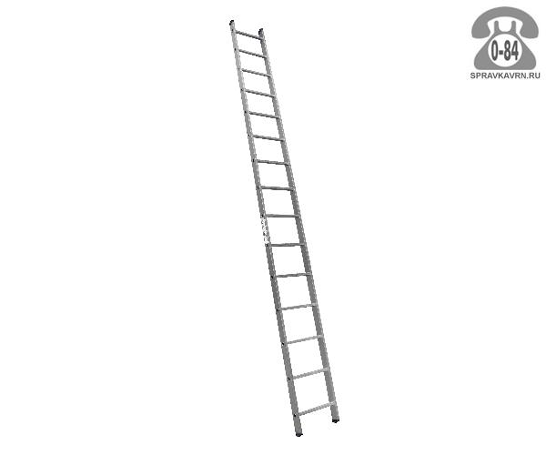 Лестница приставная Алюмет (Alumet) HS1 6115