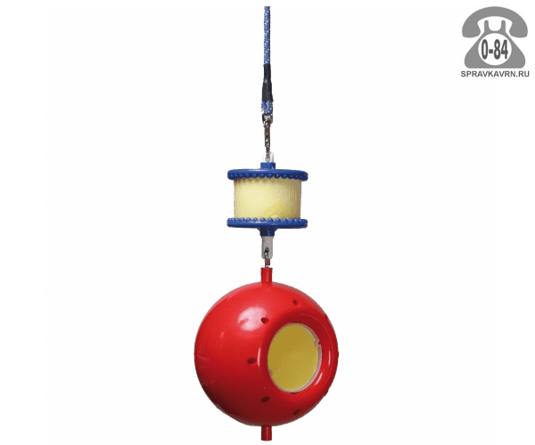Игрушки для животных мяч на цепочке с ликитом пластик Финляндия