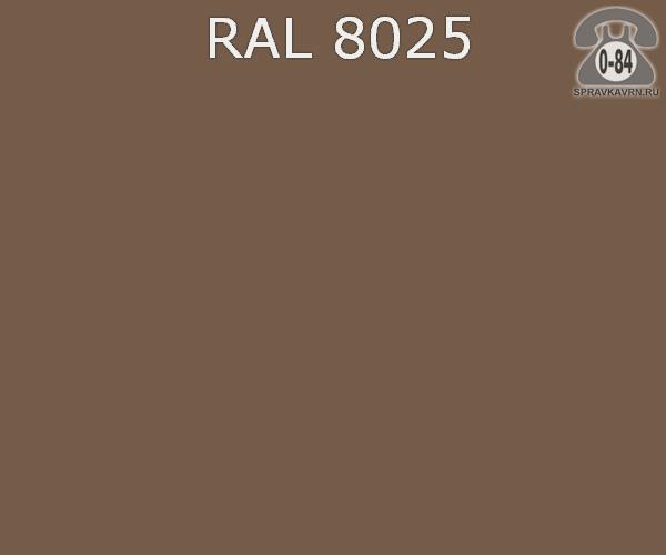 Краска порошковая ФэйХонг (FeiHong) полиэфирная бледно-коричневый RAL 8025 Китай
