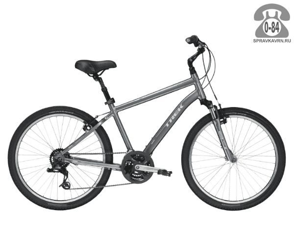"""Велосипед Трек (Trek) Shift 2 (2016), рама 19"""", серый размер рамы 19"""" серый"""