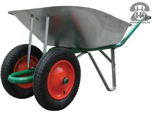 Садовая тачка Хаммерлин (Haemmerlin) ТС — 5М 100кг, 65л