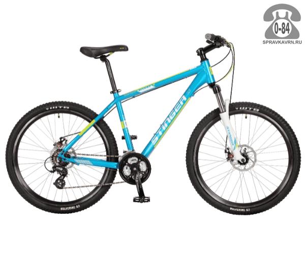 """Велосипед Стингер (Stinger) Reload D 26"""" (2017) размер рамы 16.5"""" синий"""
