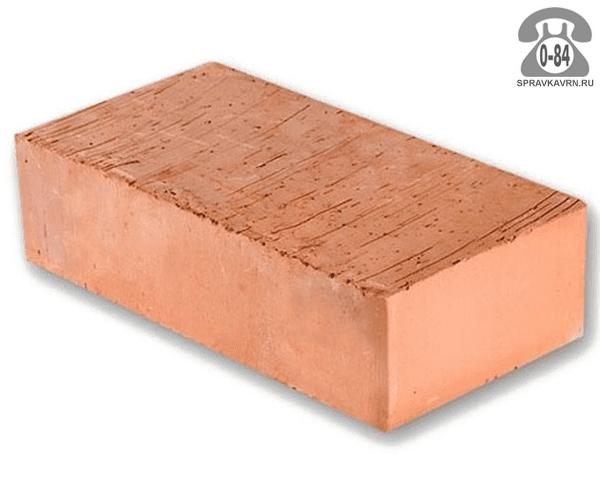 Кирпич рядовой керамический Семилукский комбинат строительных материалов М100 одинарный 1НФ 250 мм 120 мм 65 мм гладкая полнотелый красный F15 на поддонах г. Семилуки