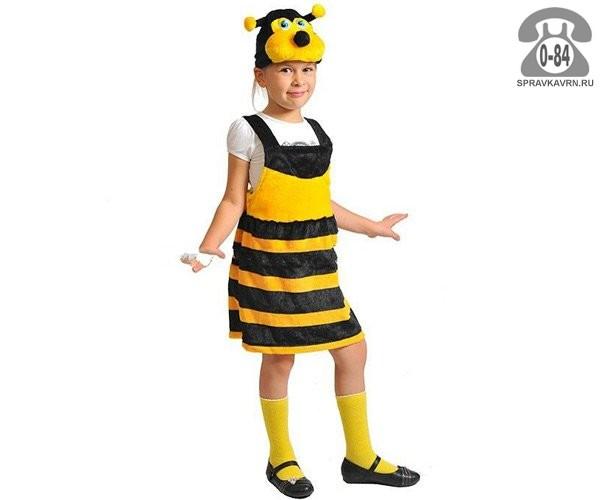 Карнавальный костюм Карнавалофф (Karnavaloff) Пчелка 100-125 см