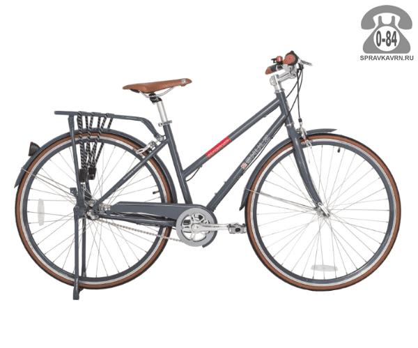 """Велосипед Шалз (Shulz) Roadkiller Lady (2016) размер рамы 16.5"""" серый"""