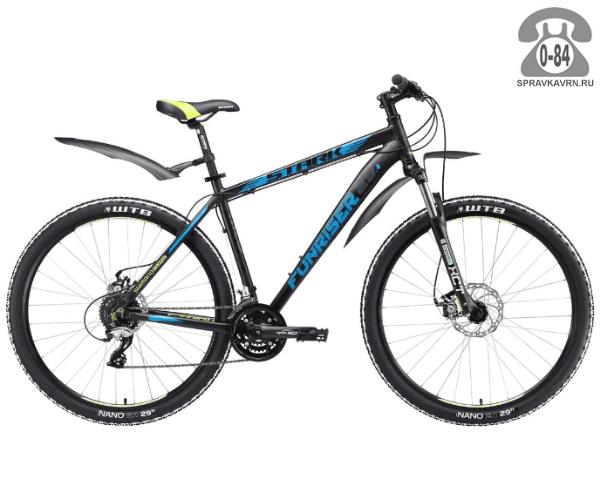 "Велосипед Старк (Stark) Funriser 29.4 D (2017) размер рамы 18.5"" черный"