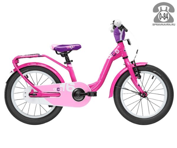 Велосипед Скул (Scool) niXe 16 alloy (2017), розовый
