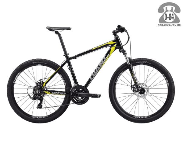 """Велосипед Джайнт (Giant) ATX 2 (2017), рама 20.5"""", черный размер рамы 20.5"""" черный"""