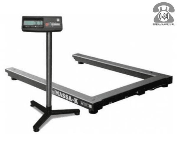 Весы товарные 4D-U-1-2000 платформа 1290*840мм 2000кг точность 500г