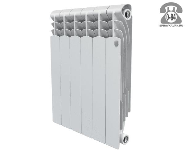 Радиатор отопления биметаллический Роял Термо (Royal Thermo) PianoForte Tower/Noir Sable 591x1781 мм