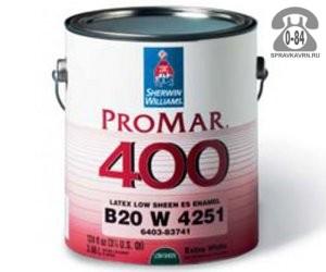 Краска, эмаль Шервин Вильямс (Sherwin Williams) ProMar 400 Interior Latex Flat