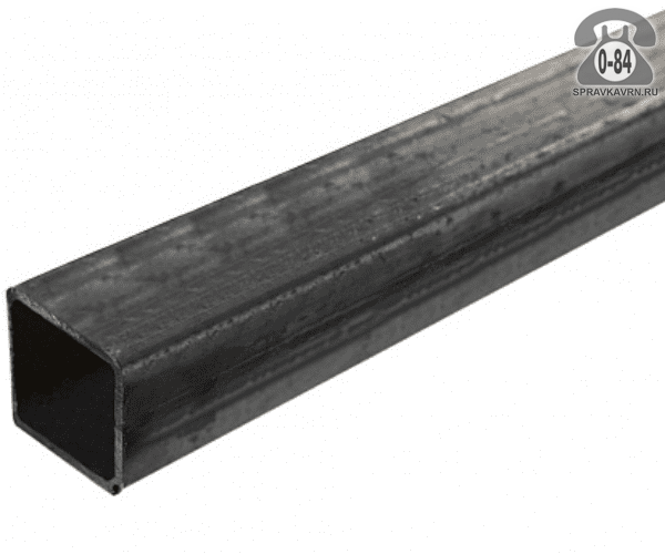 Профильные стальные трубы 25*25 2 мм 3 м
