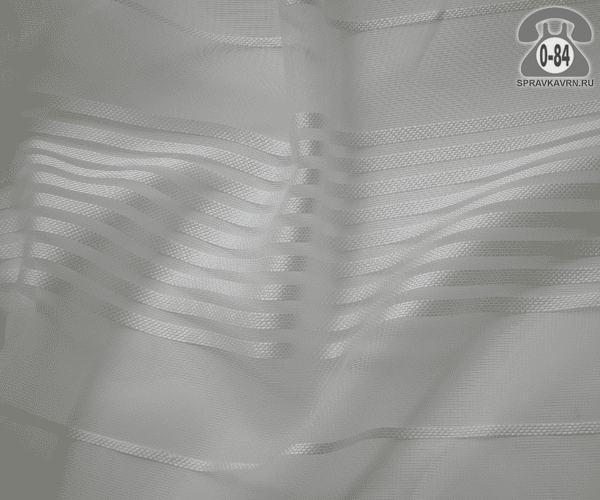 Тюль лёгкая прозрачная для штор АК 60427/07