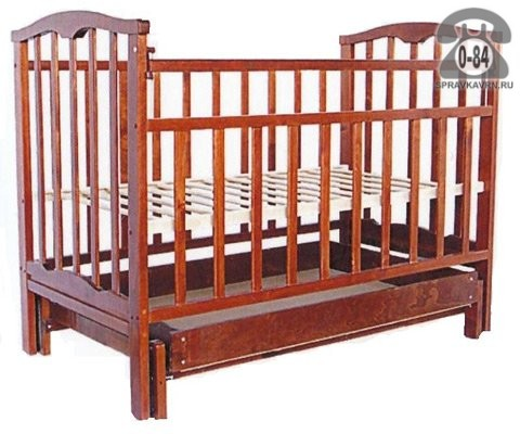 Кроватка Агат Золушка-4, маятник