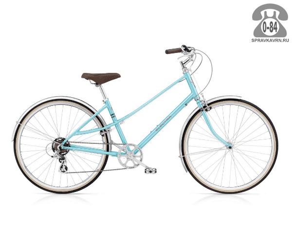 Велосипед Электра (Electra) Ticino 7D Ladies (2016) голубой