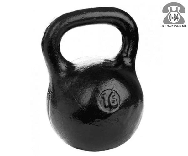 Гиря Барбел (Barbell) чугунная 16 кг