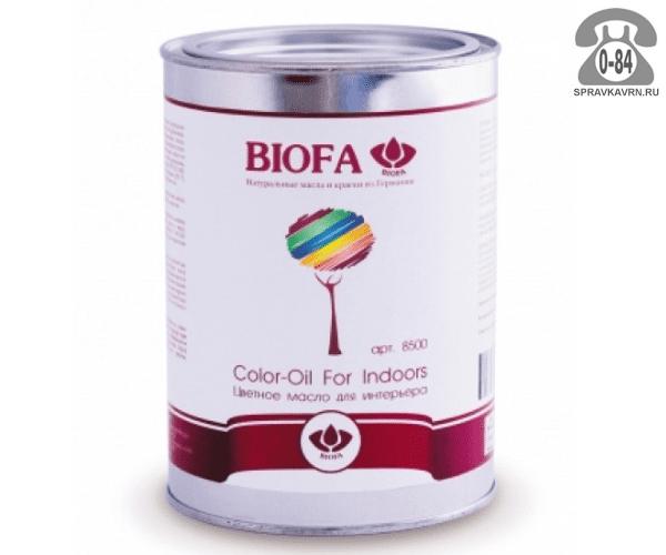 Мастика Биофа (Biofa) Color-Oil For Indoors 2.5л махагон
