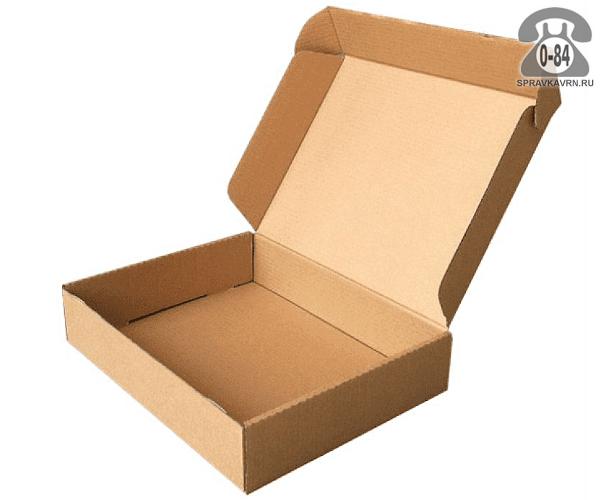 Коробка упаковочная Вотан-тара картон гофрированный (гофрокартон, гофрокороб) для белья