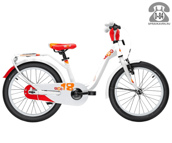 Велосипед Скул (Scool) niXe 18 1S (2016), белый