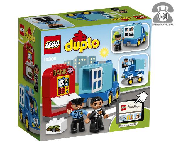 Конструктор Лего (Lego) Duplo 10809 Полицейский патруль, количество элементов: 15