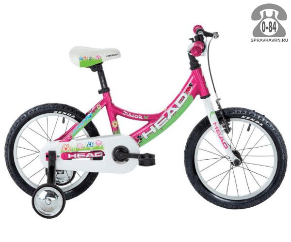 Велосипед Хед (Head) Junior (2016), розовый
