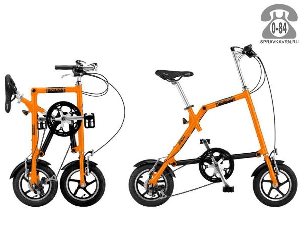 Велосипед Нэну (Nanoo) 148 (2016), оранжевый