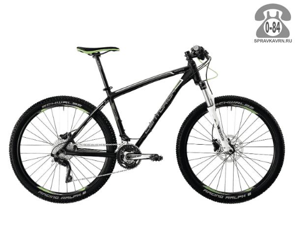 "Велосипед Центурион (Centurion) Backfire Pro 600.27 (2017) размер рамы 17.5"" серый"
