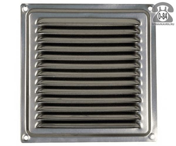 Решётка вентиляционная сталь оцинкованная