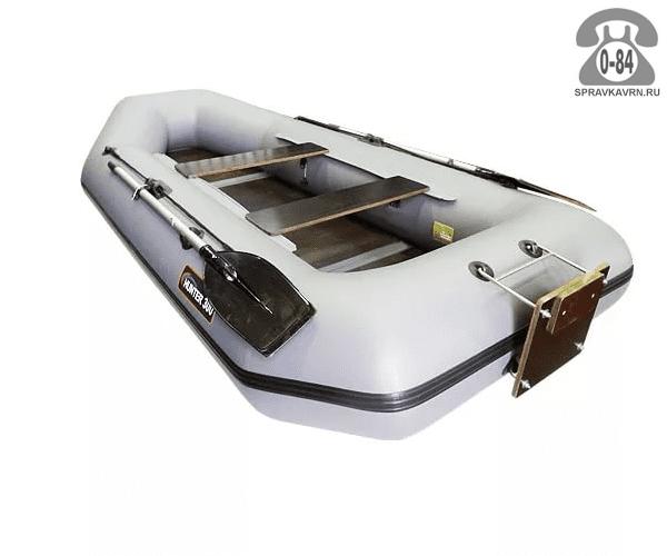 Лодка надувная Hunterboat Хантер 300 ЛТ, серый 300041